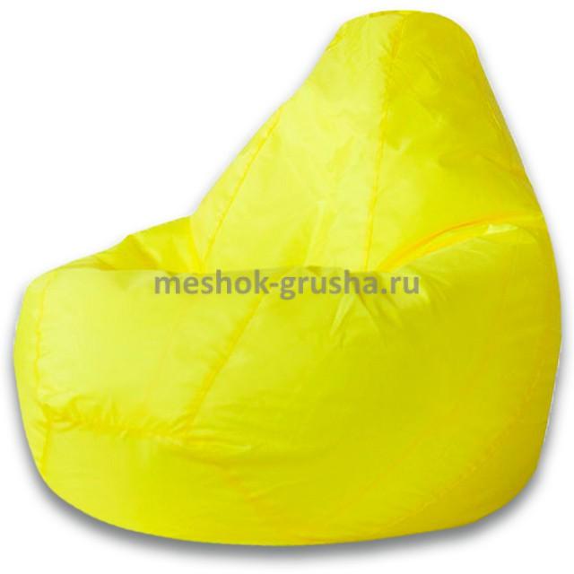 Кресло Мешок Груша Желтое (Оксфорд) (L, Классический)