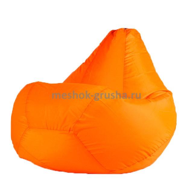 Кресло Мешок Груша Оранжевое (Оксфорд) (2XL, Классический)