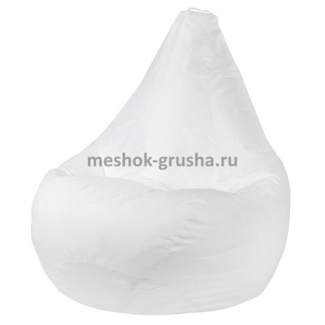 Кресло Мешок Груша Белое (Оксфорд) (L, Классический)