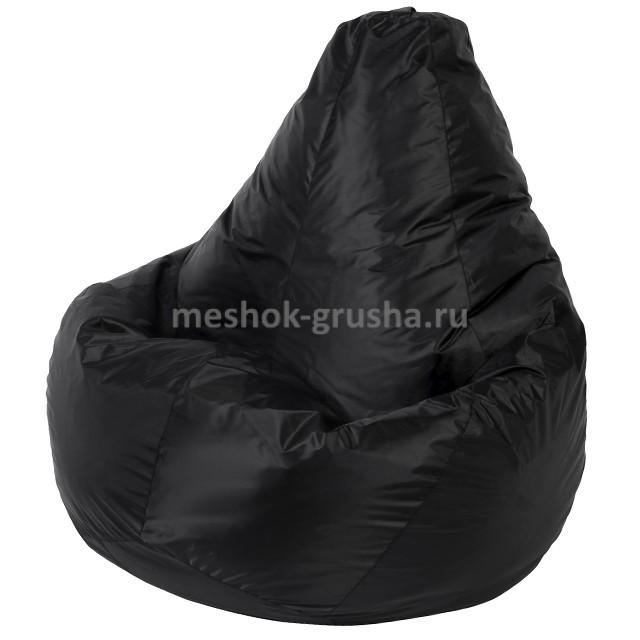 Кресло Мешок Груша Черное (Оксфорд) (2XL, Классический)