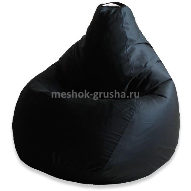 Кресло Мешок Груша Фьюжн Черное (3XL, Классический)