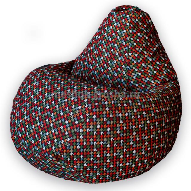 Кресло Мешок Груша Гусиная лапка (3XL, Классический)