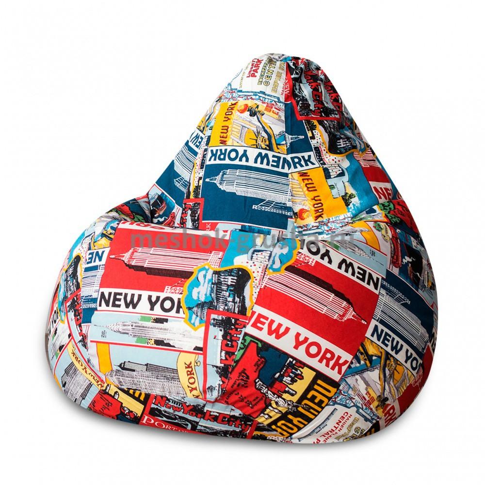 Кресло Мешок Груша New York (3XL, Классический)