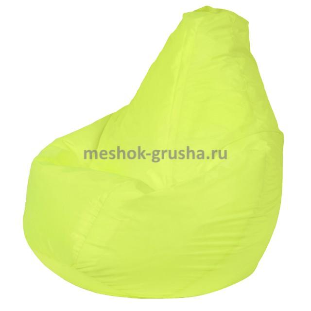 Кресло Мешок Груша Лайм (Оксфорд) (L, Классический)