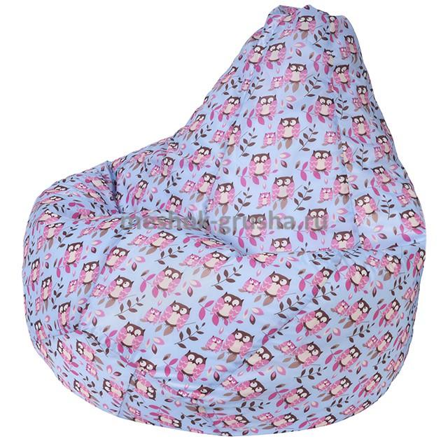 Кресло Мешок Груша Совы (Оксфорд) (3XL, Классический)
