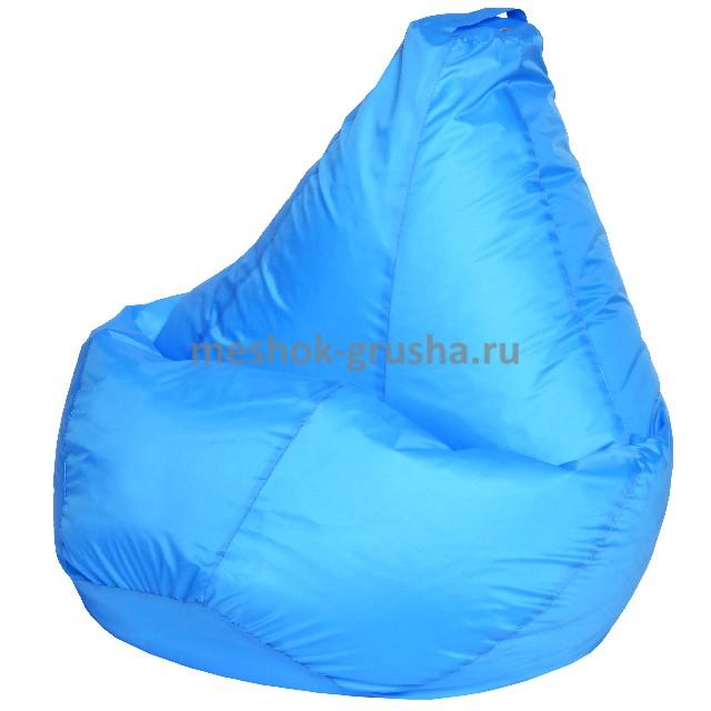 Кресло Мешок Груша Голубое (Оксфорд) (L, Классический)