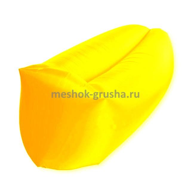 Надувной лежак AirPuf Желтый