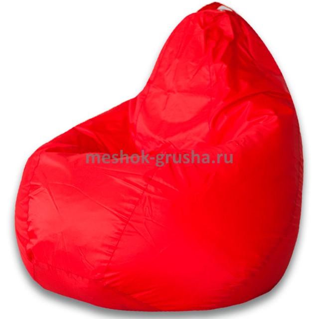 Кресло Мешок Груша Красное (Оксфорд) (3XL, Классический)