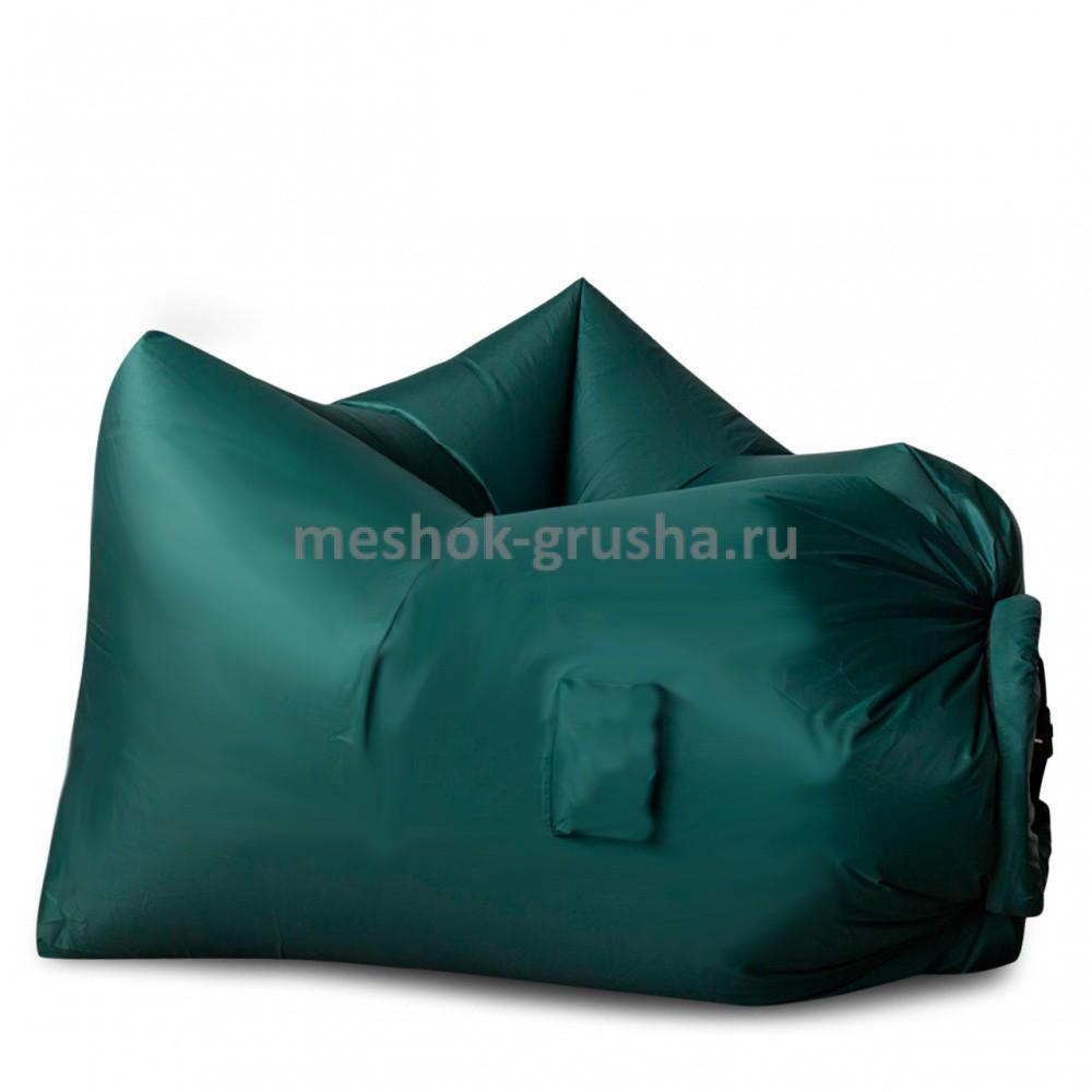 Надувное кресло AirPuf Зеленое