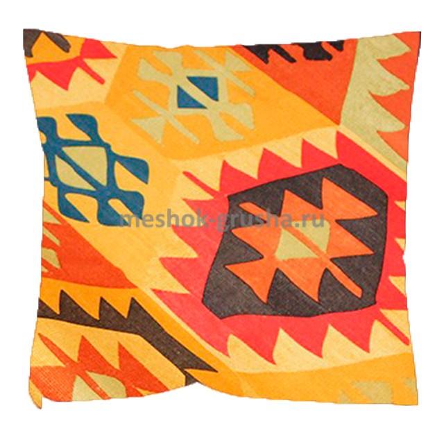 Декоративная Подушка Мехико Оранжевое